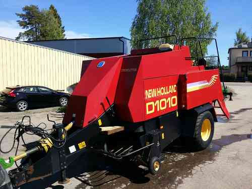 SÅLD New Holland D1010 storbalspress 80x90cm