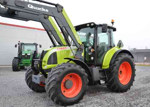 Claas Arion 640 Cebis + Lastare 2008
