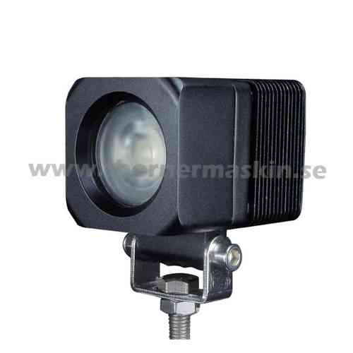 "10W Mini LED Cree-chip ""Mellanbred spridning"""
