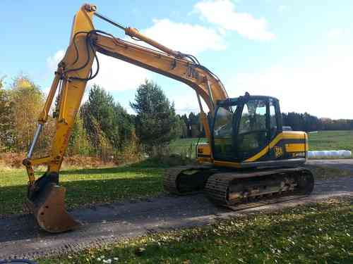 SÅLD JCB JS 130 700mm-band