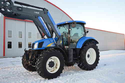 SÅLD New Holland NH T6050 med lastare + frontlyft 2008