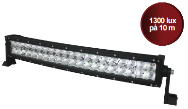 HIGH LUX LED EXTRALJUSRAMP MED OSRAM DIODER