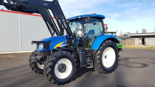 SÅLD New Holland T6050 Elite Trima +4.1 Lastare