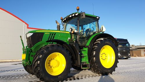 SÅLD John Deere 6175R AP FL+PTO AT-ready