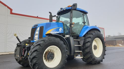 SÅLD New Holland T8040 PS Frontlyft