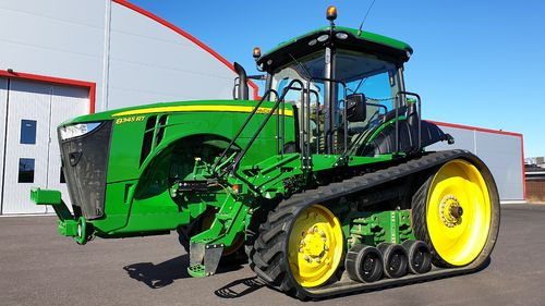 John Deere 8345RT Autopower ULTIMATE 3000-antenn